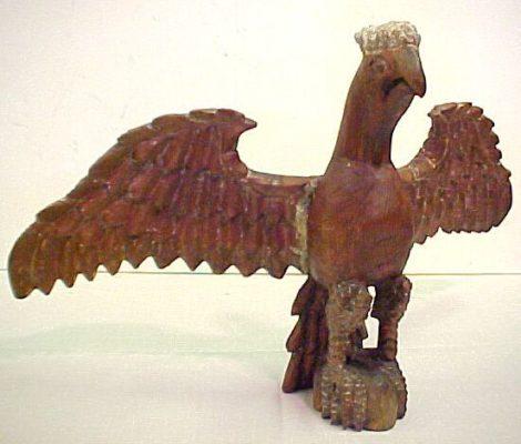 Wilhelm Schimmel Eagle Carving