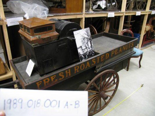 Charles Veto's Peanut Cart