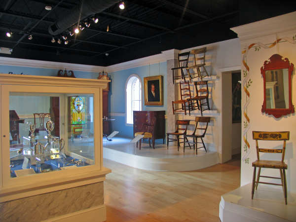 Fine Arts Gallery in the CCHS Museum