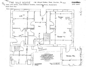 Two Mile House First Floor Plan