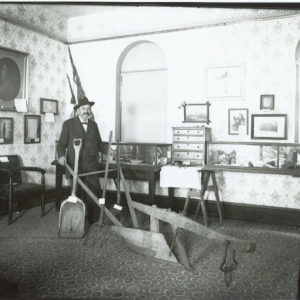 William Miller in Hamilton Library Museum