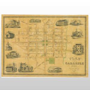 1850 Plan of Carlisle Product Image