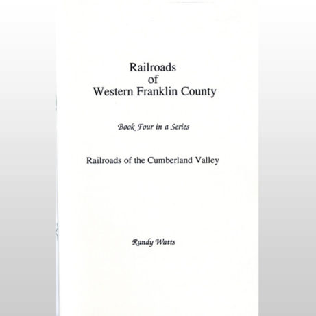 Product Image for the Western Franklin Railroads Book