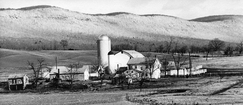 Barn and Farm House