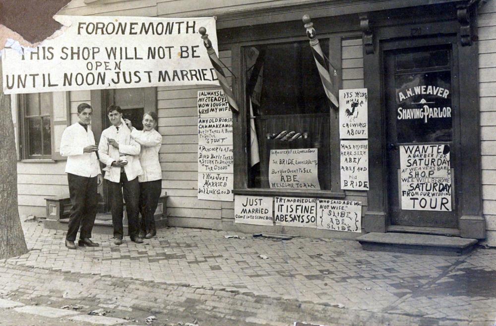 A.H. Weaver Shaving Parlor