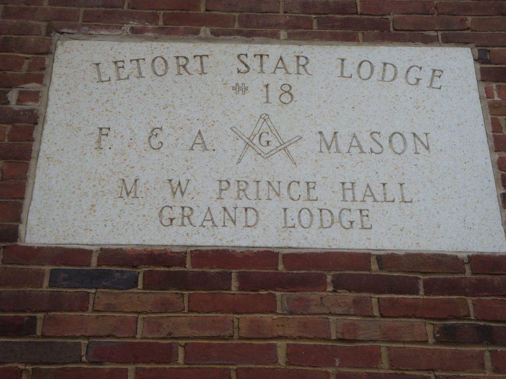 Stone Identifying LeTort Lodge